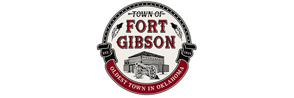 Town of Fort Gibson Logo - 600x200